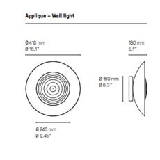 Wok  applique murale wall light  cvl wok  design signed 53584 thumb
