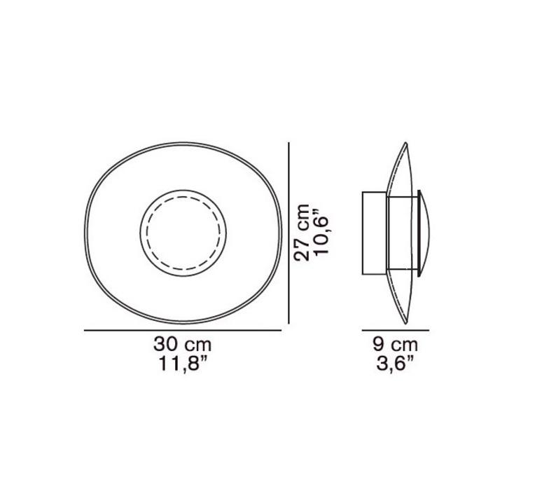 Yolk angeletti ruzza design oluce 169 luminaire lighting design signed 22580 product