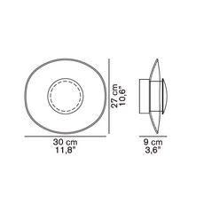 Yolk angeletti ruzza design oluce 169 luminaire lighting design signed 22580 thumb