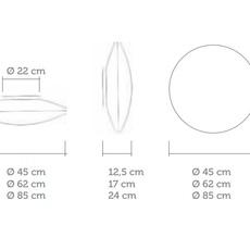 Zen celine wright celine wright zen applique mm luminaire lighting design signed 18866 thumb