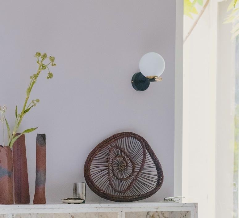 Zoe noir laiton daniel gallo applique murale wall light  daniel gallo zoe noir laiton  design signed nedgis 115045 product