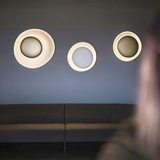 Bahia mini led studio lucidi pevere applique ou plafonnier wall or ceiling light  foscarini 1960052l 71  design signed nedgis 118677 thumb