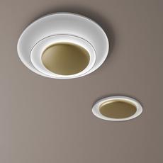 Bahia mini led studio lucidi pevere applique ou plafonnier wall or ceiling light  foscarini 1960052l 71  design signed nedgis 118680 thumb