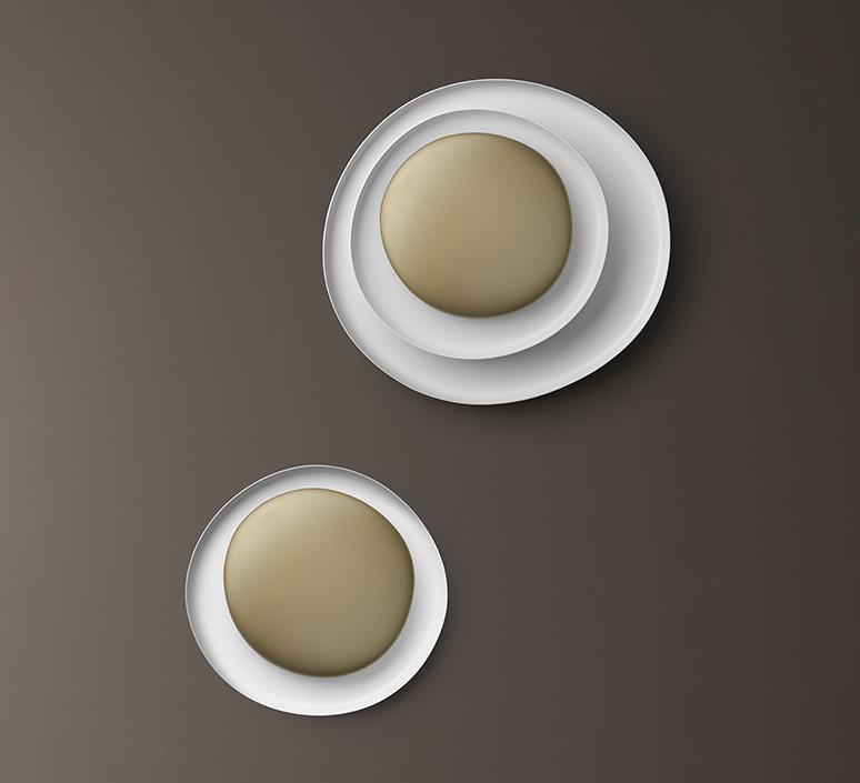 Bahia mini led studio lucidi pevere applique ou plafonnier wall or ceiling light  foscarini 1960052l 71  design signed nedgis 118681 product