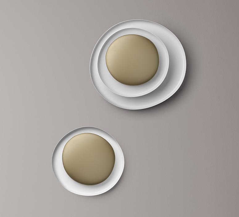 Bahia mini led studio lucidi pevere applique ou plafonnier wall or ceiling light  foscarini 1960052l 71  design signed nedgis 118682 product