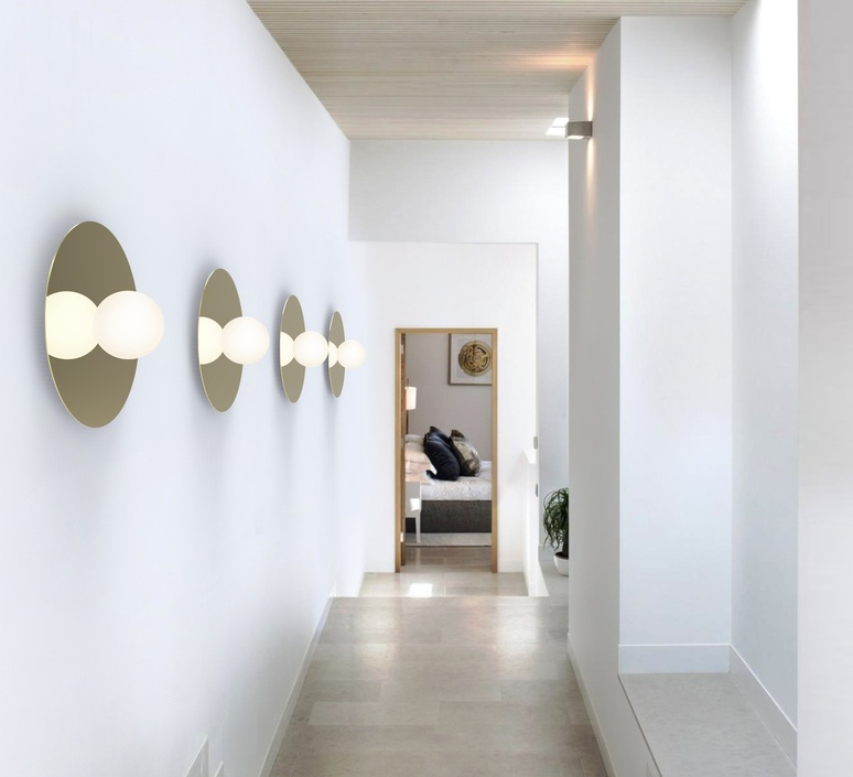Bola disc flush 18 pablo pardo applique ou plafonnier wall or ceiling light  pablo bow131081  design signed nedgis 117877 product