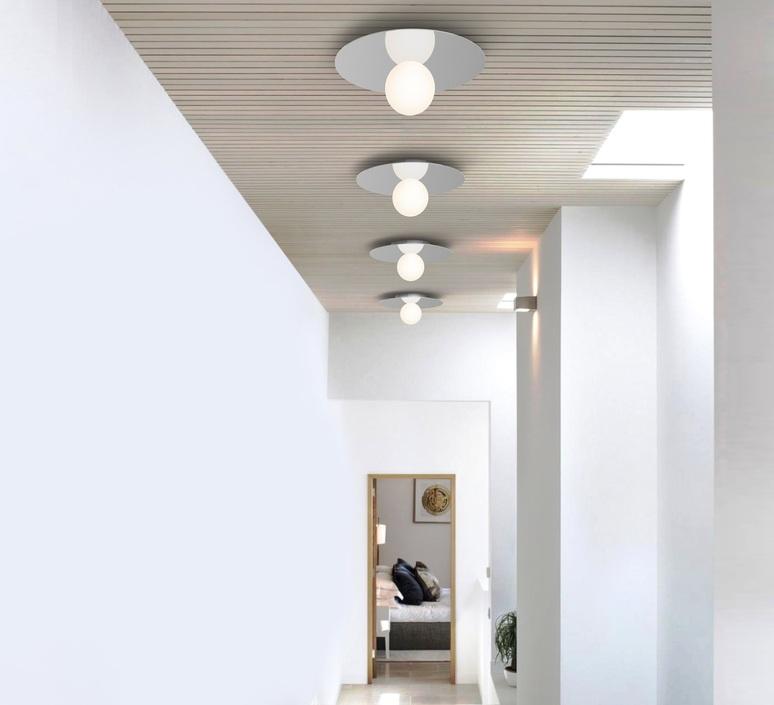 Bola disc flush 22 pablo pardo applique ou plafonnier wall or ceiling light  pablo bow161069  design signed nedgis 117868 product