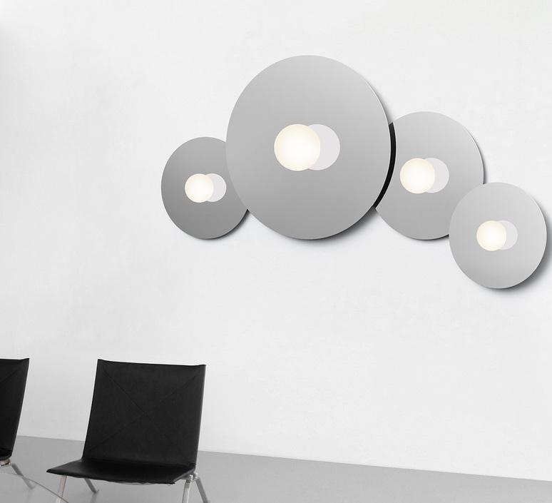 Bola disc flush 22 pablo pardo applique ou plafonnier wall or ceiling light  pablo bow161069  design signed nedgis 117869 product