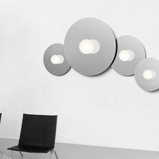 Bola disc flush 22 pablo pardo applique ou plafonnier wall or ceiling light  pablo bow161069  design signed nedgis 117869 thumb