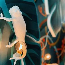 Chameleon lamp going up marcantonio raimondi malerba applique ou plafonnier wall or ceiling light  seletti 14662  design signed nedgis 97738 thumb
