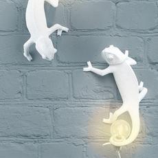 Chameleon lamp going up marcantonio raimondi malerba applique ou plafonnier wall or ceiling light  seletti 14662  design signed nedgis 97740 thumb