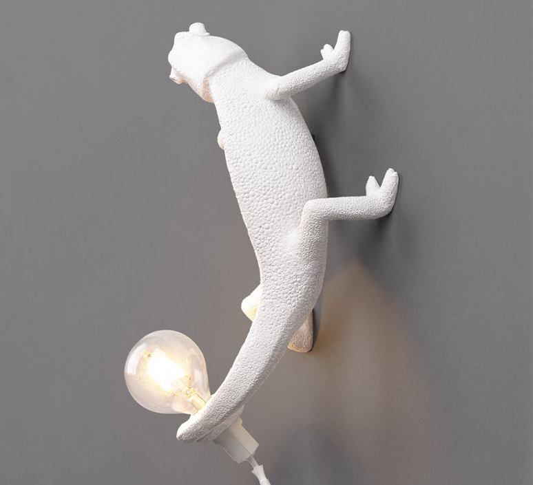 Chameleon lamp going up marcantonio raimondi malerba applique ou plafonnier wall or ceiling light  seletti 14662  design signed nedgis 97741 product