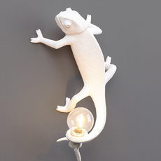 Chameleon lamp going up marcantonio raimondi malerba applique ou plafonnier wall or ceiling light  seletti 14662  design signed nedgis 97742 thumb