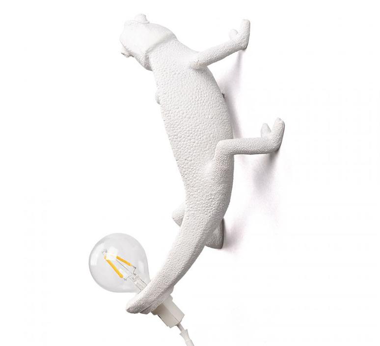 Chameleon lamp going up marcantonio raimondi malerba applique ou plafonnier wall or ceiling light  seletti 14662  design signed nedgis 97743 product