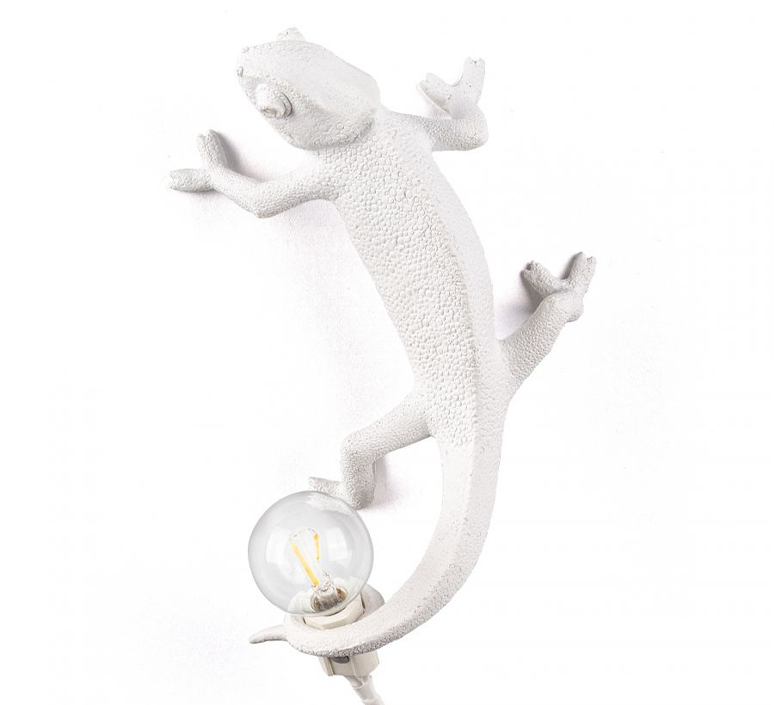 Chameleon lamp going up marcantonio raimondi malerba applique ou plafonnier wall or ceiling light  seletti 14662  design signed nedgis 97744 product