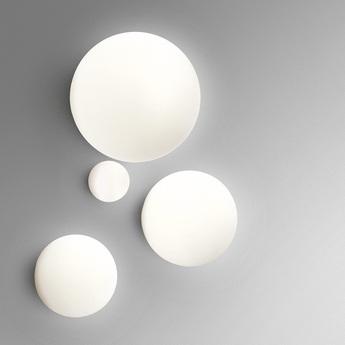 Applique ou plafonnier dioscori blanc o25cm artemide normal