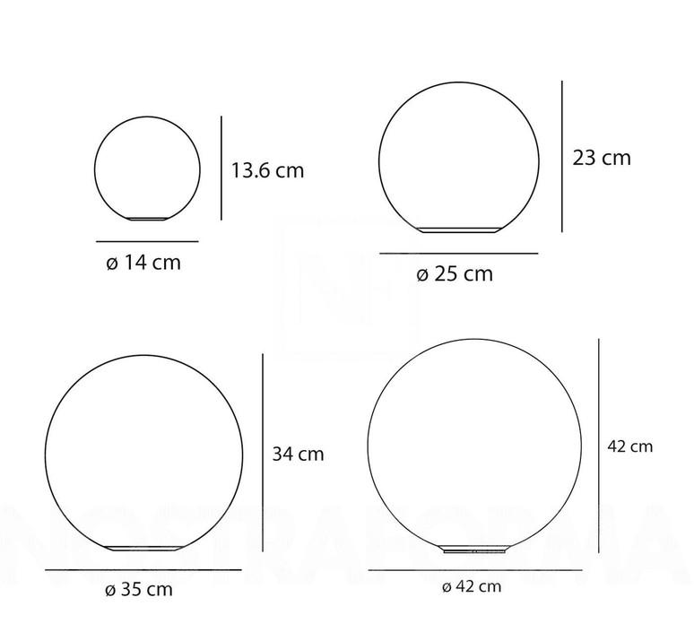Applique ou plafonnier dioscori blanc o42cm artemide 35597 product