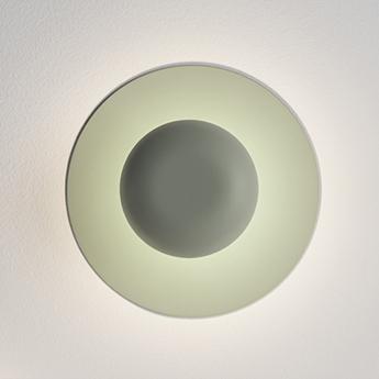 Applique ou plafonnier funnel 2004 vert l1 led 2700k 420lm o22cm h9cm vibia normal