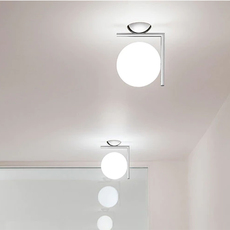 Ic lights c w1 double michael anastassiades applique ou plafonnier wall or ceiling light  flos f3178057  design signed nedgis 97623 thumb