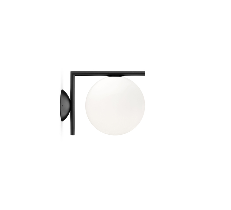 Ic lights c w1 double michael anastassiades applique ou plafonnier wall or ceiling light  flos f3178030  design signed nedgis 97616 product