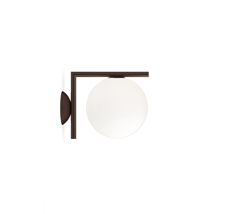 Ic lights wall 1 outdoor michael anastassiades applique ou plafonnier wall or ceiling light  flos f012h00c018  design signed nedgis 97675 product