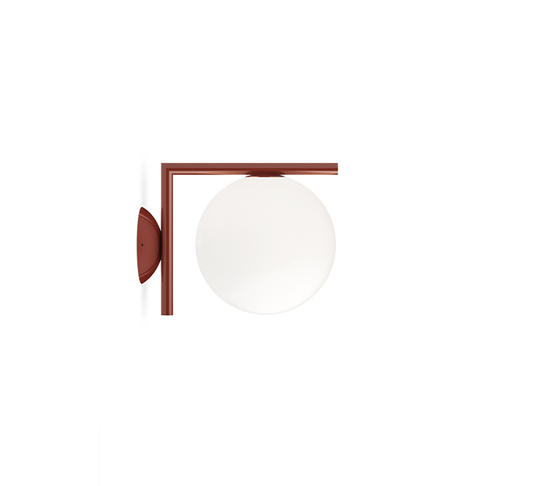 Ic lights wall 1 outdoor michael anastassiades applique ou plafonnier wall or ceiling light  flos f012h00c037  design signed nedgis 97680 product