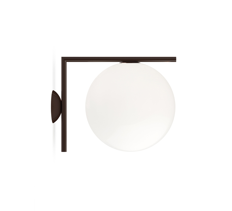Ic lights wall 2 outdoor michael anastassiades applique ou plafonnier wall or ceiling light  flos f012j00c018  design signed nedgis 97699 product