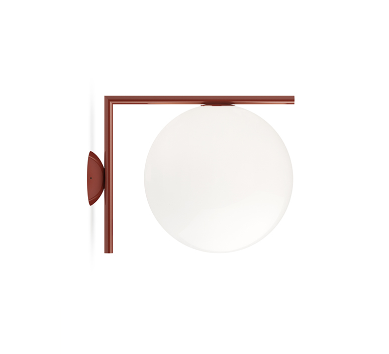 Ic lights wall 2 outdoor michael anastassiades applique ou plafonnier wall or ceiling light  flos f012j00c037  design signed nedgis 97704 product