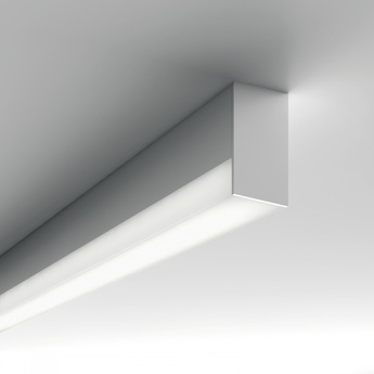Applique ou plafonnier minifile openlight system blanc dali 4000k 2472lml112cm lucifero s normal