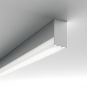 Applique ou plafonnier minifile openlight system blanc dali 4000k 3090lm l140cm lucifero s copy of normal