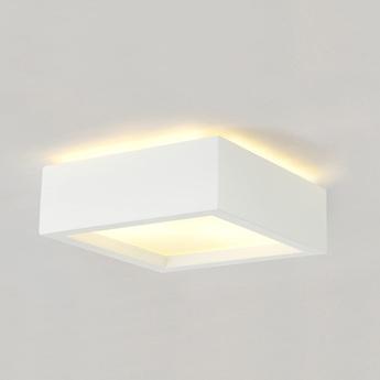 Applique ou plafonnier plastra 104 blanc o25cm h9 5cm slv normal
