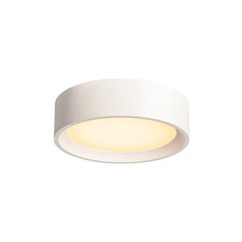 Applique ou plafonnier plastra blanc o25cm h7cm slv normal