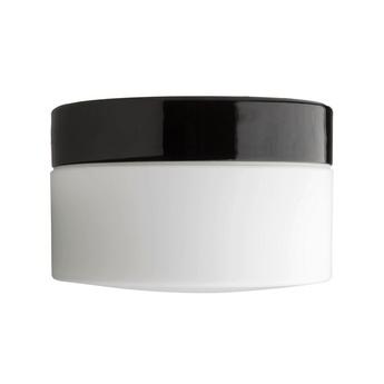 Applique ou plafonnier pure porcelaine noir ip40 o20cm h12 5cm zangra normal