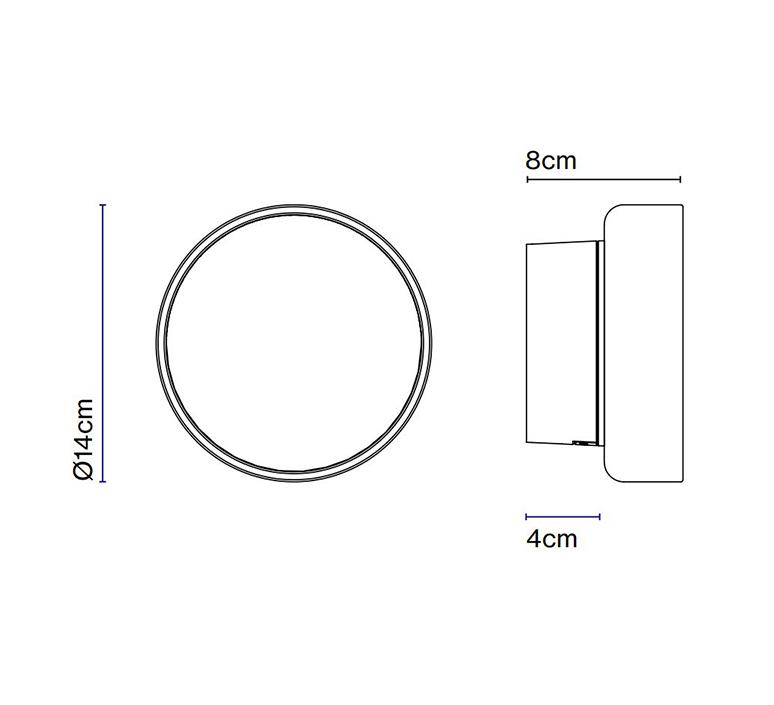 Roc joan gaspar applique ou plafonnier wall or ceiling light  marset a701 001  design signed nedgis 117364 product