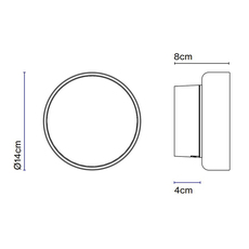 Roc joan gaspar applique ou plafonnier wall or ceiling light  marset a701 001  design signed nedgis 117364 thumb