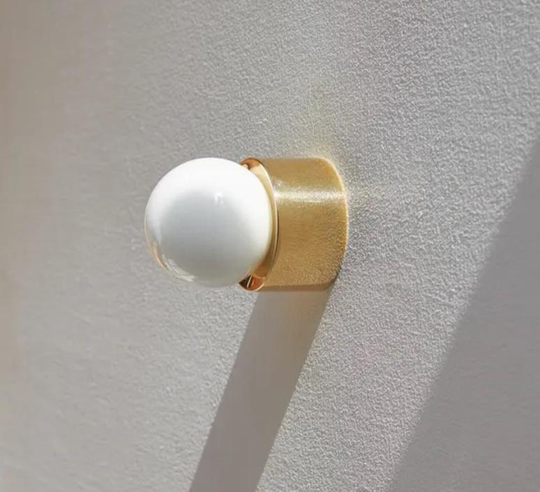 Sconce 60 michael anastassiades applique ou plafonnier wall or ceiling light  anastassiades ma s60 pbr   design signed nedgis 111258 product