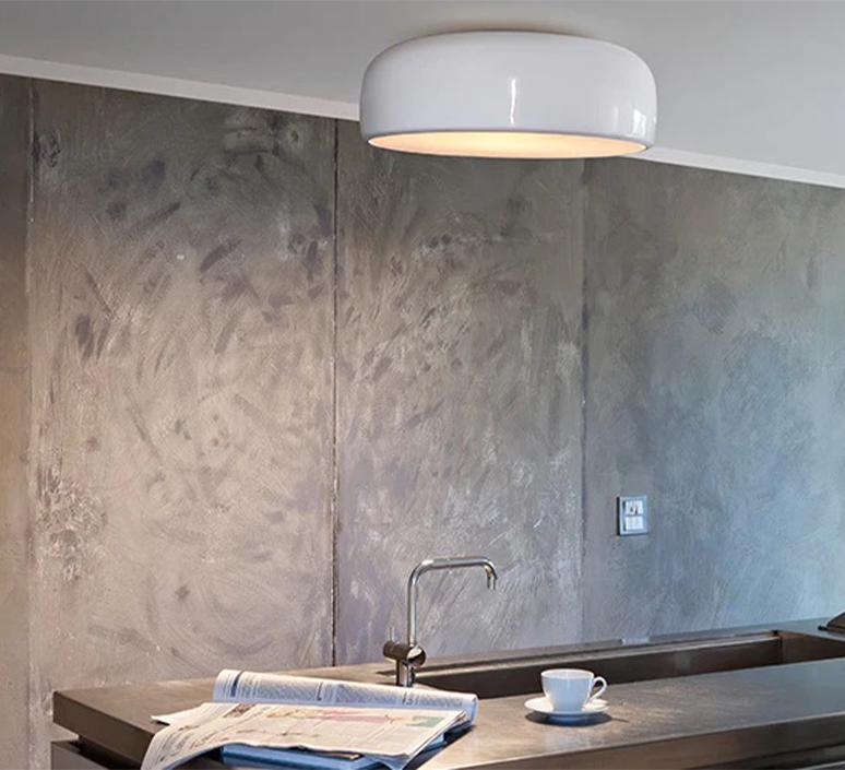 Smithfield jasper morrison applique ou plafonnier wall or ceiling light  flos f1370009  design signed nedgis 122944 product