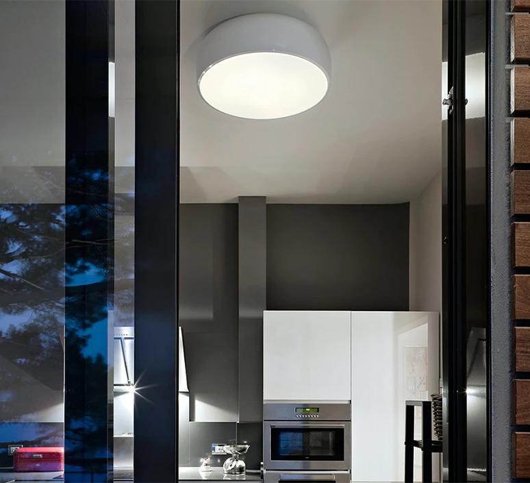 Smithfield jasper morrison applique ou plafonnier wall or ceiling light  flos f1370009  design signed nedgis 122945 product