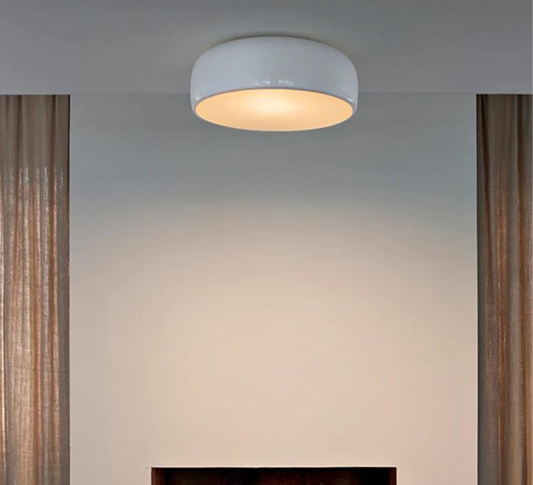 Smithfield jasper morrison applique ou plafonnier wall or ceiling light  flos f1370009  design signed nedgis 122946 product