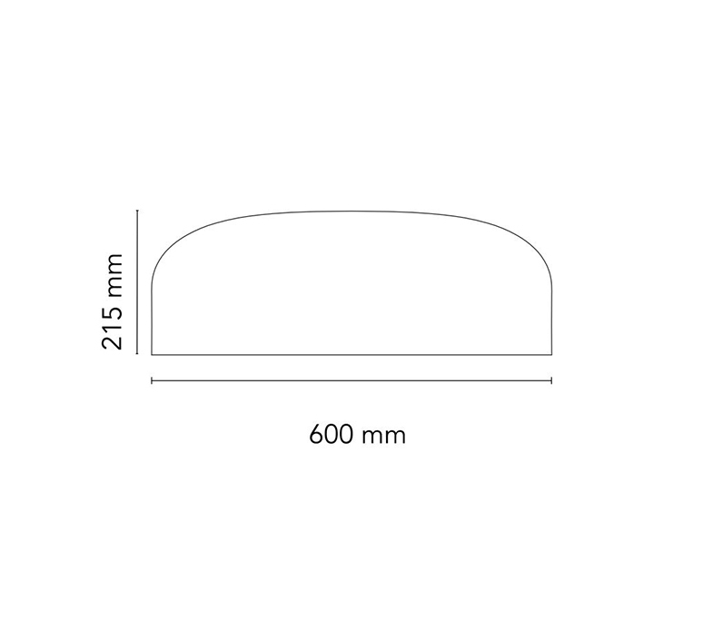 Smithfield jasper morrison applique ou plafonnier wall or ceiling light  flos f1370009  design signed nedgis 122948 product