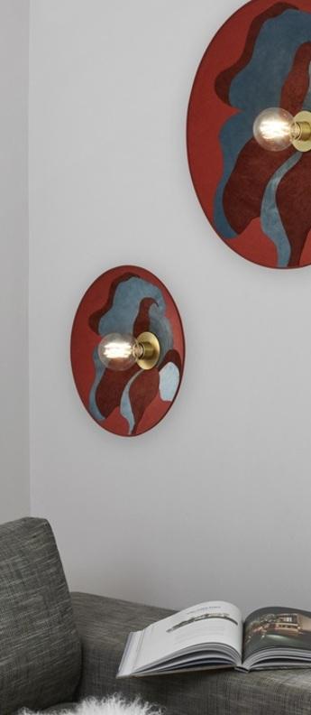 Applique ou plafonnier sonia laudet d40 nostalgia camelia l40cm h40cm market set normal