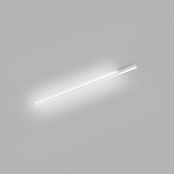 Applique ou plafonnier stripe blanc led 2700k 2970lm l150cm h4cm light point normal