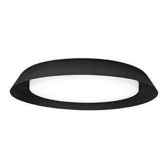 Applique ou plafonnier towna 3 0 noir ip44 led 2700k 1550lm o46 1cm h9 2cm wever ducre normal