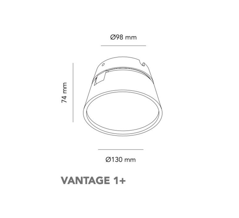 Vantage 1  nital patel applique ou plafonnier wall or ceiling light  light point 270701  design signed nedgis 96889 product