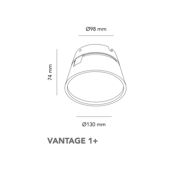 Vantage 1  nital patel applique ou plafonnier wall or ceiling light  light point 270702  design signed nedgis 96876 product
