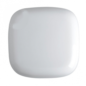 Applique ou plafonnier verre souffle opale blanc o25cm h10 5cm zangra normal