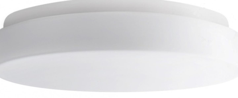 Applique ou plafonnier verre soufle blanc ip44 l36cm h36cm zangra normal