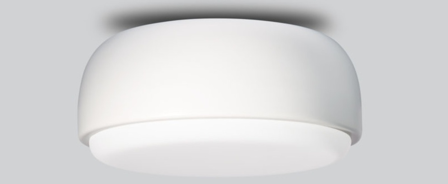 Applique plafonnier above blanc o30cm h14cm northern lighting normal