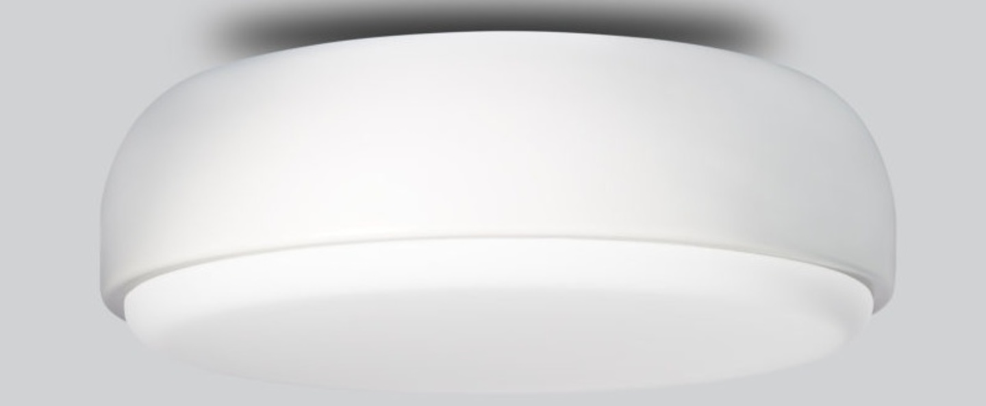 Applique plafonnier above blanc o40cm h14cm northern lighting normal