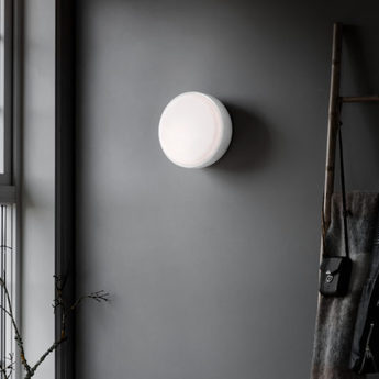 Applique plafonnier above blanc o40cm h14cm northern lighting normal